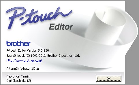 how to use p touch editor