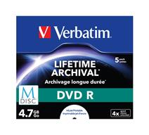Verbatim DVD+R Lifetime Archival 4.7GB